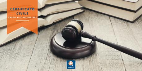 Certificato civile Casellario Giudiziale