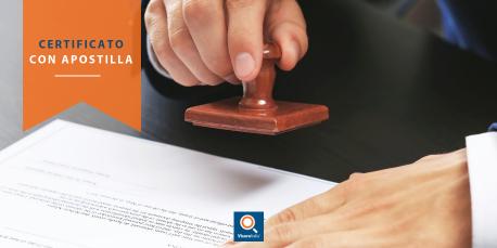 Certificato Casellario Giudiziale con Apostilla
