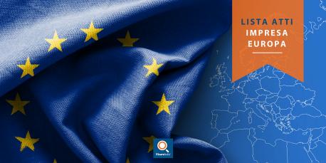 Lista atti impresa Europa