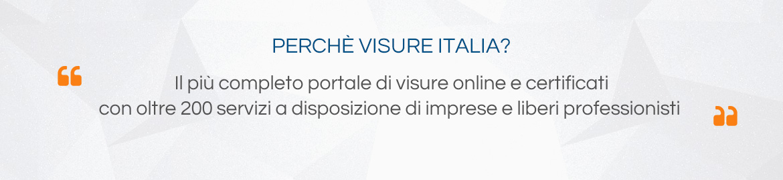 l più completo portale di visure online e certificati con oltre 170 tipologie di servizi per imprese, professionisti e cittadini