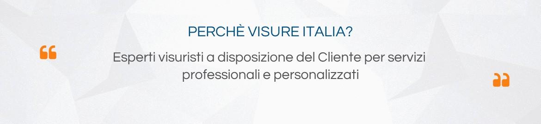 Esperti visuristi a disposizione del Cliente per servizi professionali e personalizzati