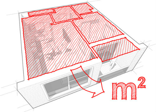 Come si calcolano i metri quadri nelle visure catastali