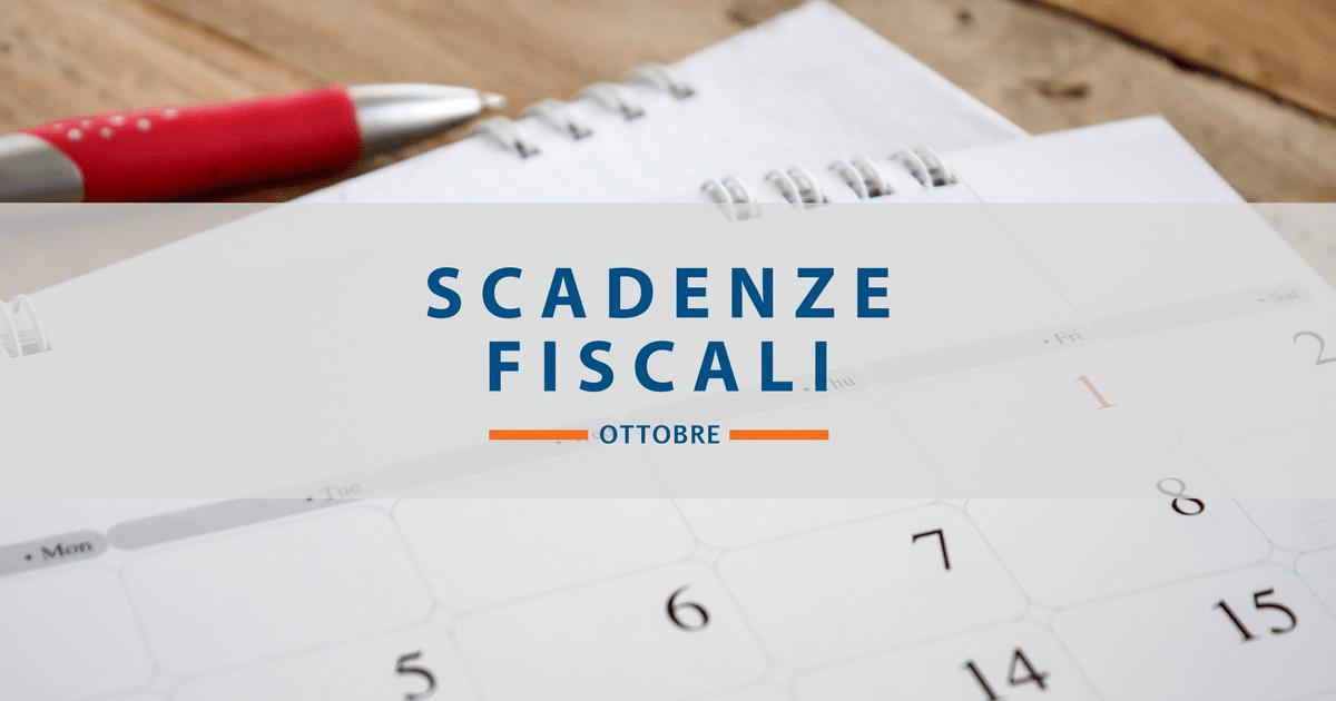 Scadenze Fiscali Di Ottobre: Dallo Spesometro Al Modello 770   Smart Focus