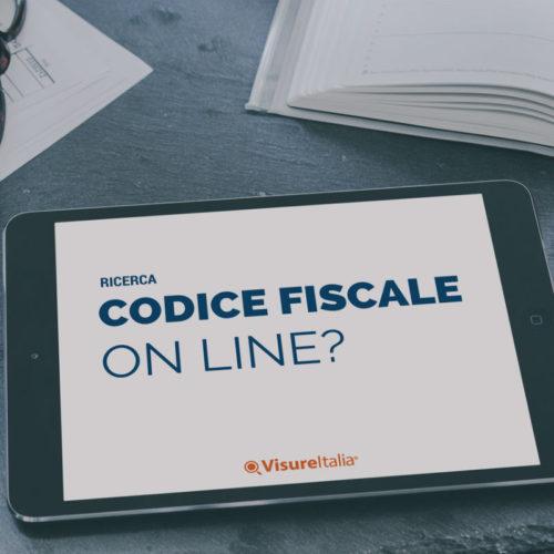 La ricerca del codice fiscale online è possibile?