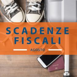 Qual è il Calendario scadenze fiscali agosto 2018