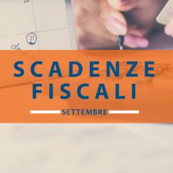 Quali sono le scadenze fiscali di settembre 2018
