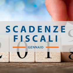 Quali sono Scadenze fiscali di gennaio 2019
