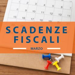 Quali sono le Scadenze fiscali marzo 2019