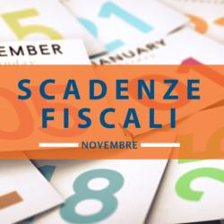 Quali sono le Le scadenze fiscali di novembre 2018