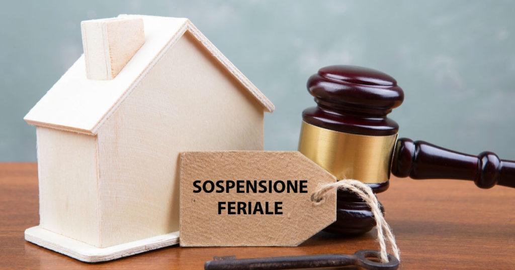 Istanza di vendita e sospensione feriale: cosa c'è da sapere