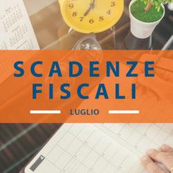 Calendario fiscale luglio 2019