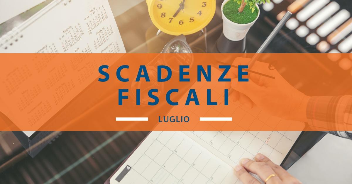 Calendario Fiscale 2019.Calendario Fiscale Luglio 2019 Quali Sono Le Scadenze