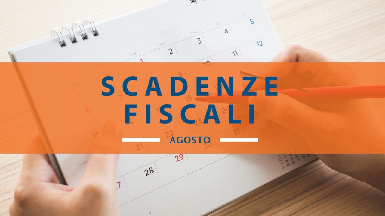 Calendario Fiscale 2019.Il Calendario Estivo Delle Scadenze Fiscali Di Agosto 2019