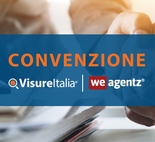 Servizi agenti immobiliari: la convenzione Visure Italia e WeAgentz