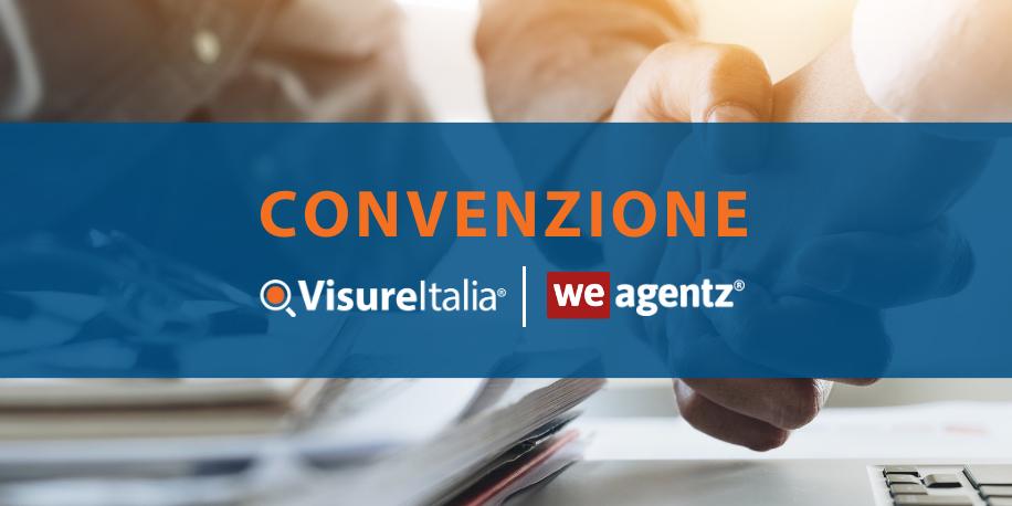 Servizi agenti immobiliari: la convenzione fra Visure Italia e WeAgentz