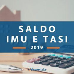 Saldo Imu e Tasi 2019