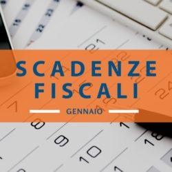Calendario scadenze fiscali: gennaio 2020