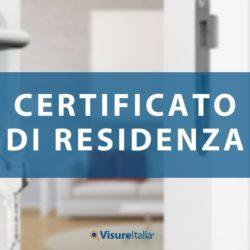Come richiedere un Certificato di residenza online