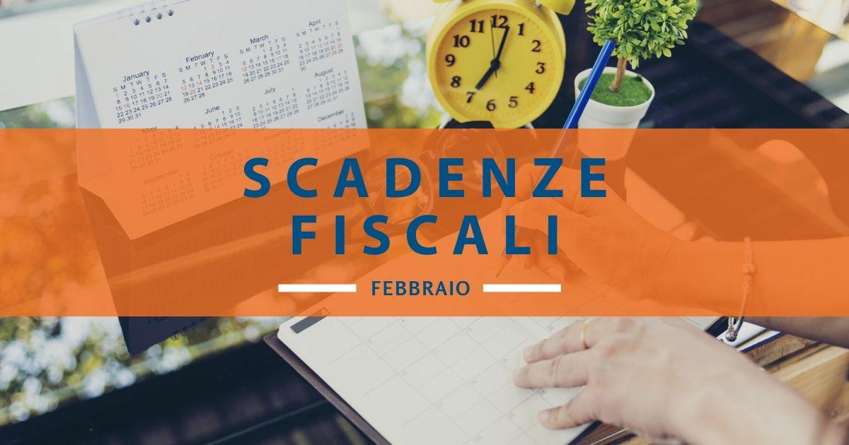 Scadenze fiscali febbraio 2020