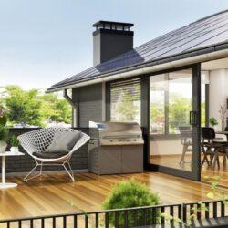 Casa con terrazzo! Le case ai piani alti valgono quasi il 10% in più
