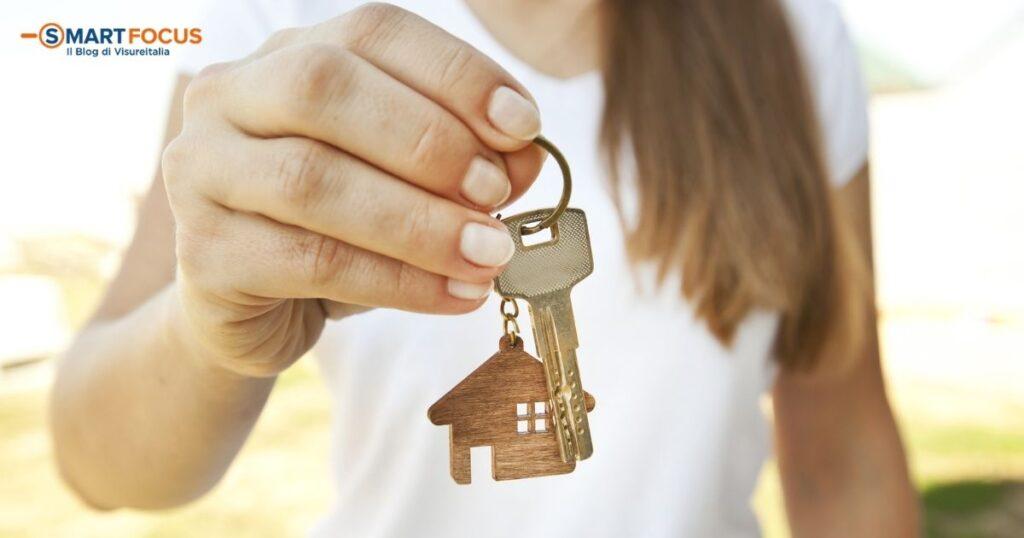 Compravendita casa: in rialzo secondo i dati OMI